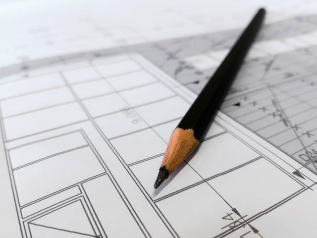 Plan de rénovation de magasin