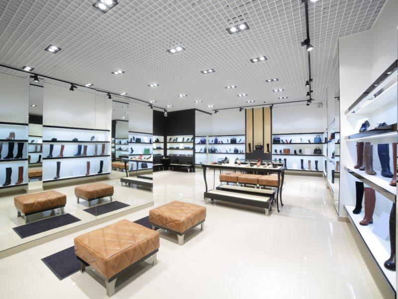 Agencement boutique de luxe