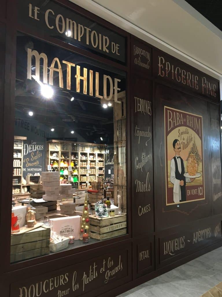 Aménagement d'Au Comptoir de Mathilde