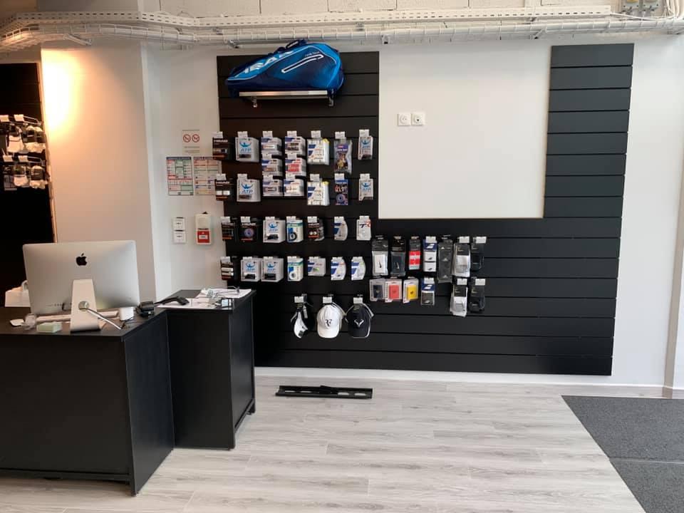 Aménagement boutique sport