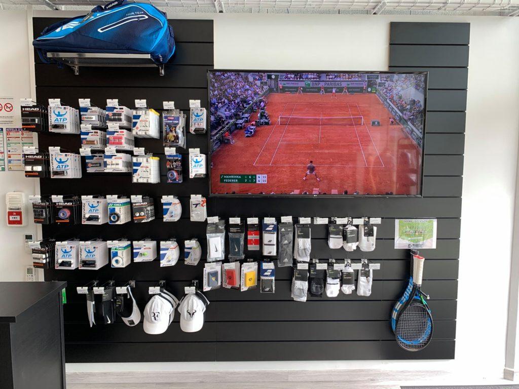 Agencement boutique pour sportif