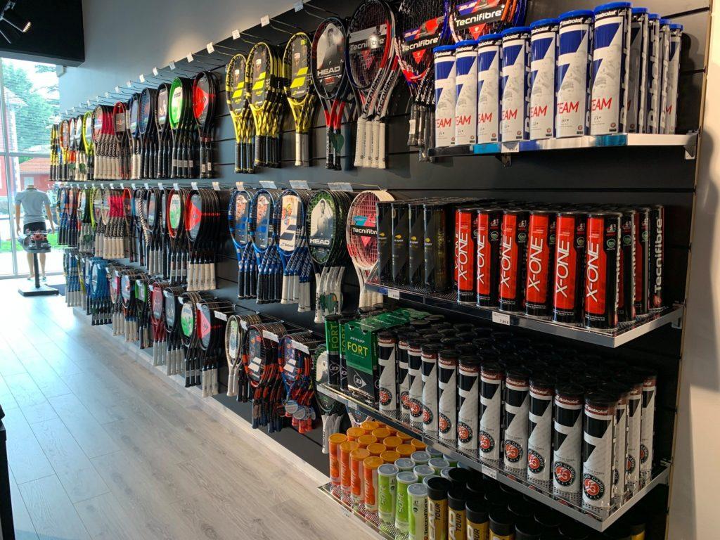 Aménagement magasin de sport et retail