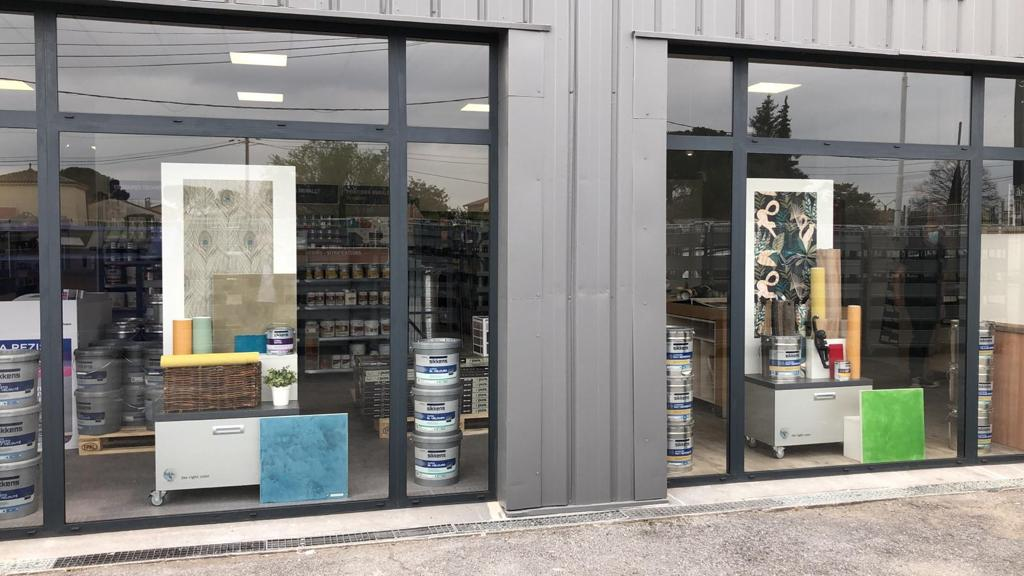Agencement magasin bricolage